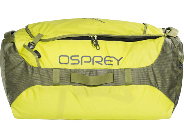 Osprey Transporter 95 Duffelilaukku, sub lime